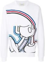Iceberg Mickey embroidered sweatshirt