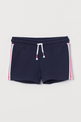 H&M Side-striped sweatshirt shorts