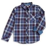 Ben Sherman Boy's Plaid Button-Down Shirt