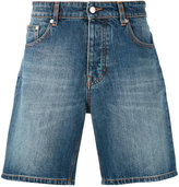 Ami Alexandre Mattiussi denim bermuda shorts - men - Cotton - M
