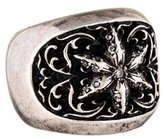 Chrome Hearts Diamond Star Ring
