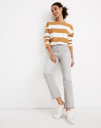 Madewell Slim Demi-Boot Jeans in Dekalb Wash