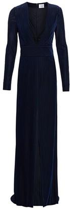 Galvan Stardust Velvet Devore Gown