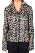 Maison Margiela Women's Wool Boucle Short Jacket.