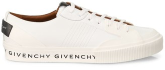 Givenchy Logo Tennis Light Low-Top Leather Sneakers
