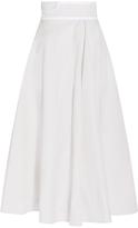 Bottega Veneta Cotton-Canvas Midi Skirt