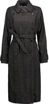 Etoile Isabel Marant Habor herringbone linen-blend coat