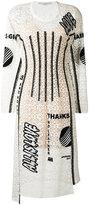 Stella McCartney Thanks Girls print Kim dress - women - Cotton/Polyamide/Polyester/Spandex/Elastane - 40