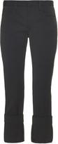 Maison Margiela Low-rise tuxedo-stripe wool trousers