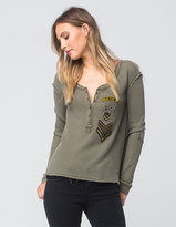 Free People Bridget Womens Thermal Tee