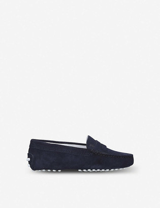 Tod's Mocassino suede loafers 6-9 years