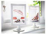 "Ikea Photo Frames White Tolsby 4 X 6"" (4 Pack) Each Frame Holds 2 Pictures"