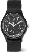 Timex Archive Camper Mk1 Resin And Grosgrain Watch - Black