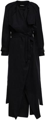 GOEN.J Frayed Linen Coat