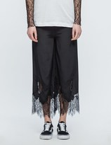 McQ by Alexander McQueen Fluid Lace Trousers