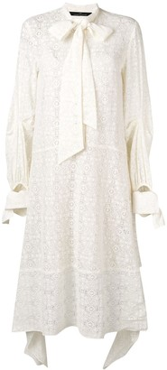 Rokh Lace Panelled Dress