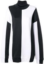 Marques Almeida Marques'almeida contrast sweatshirt