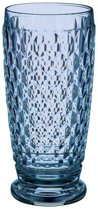 Villeroy & Boch Boston Coloured Blue Highball Or Beer Tumbler 16cm