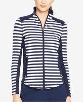 Lauren Ralph Lauren Striped Running Jacket