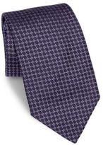 Armani Collezioni Patterned Silk Tie