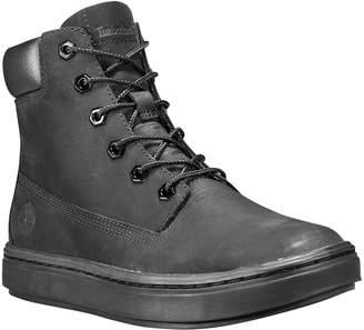 Timberland Women's Casual boots BLACK - Black Londyn Wedge Leather Sneaker - Women