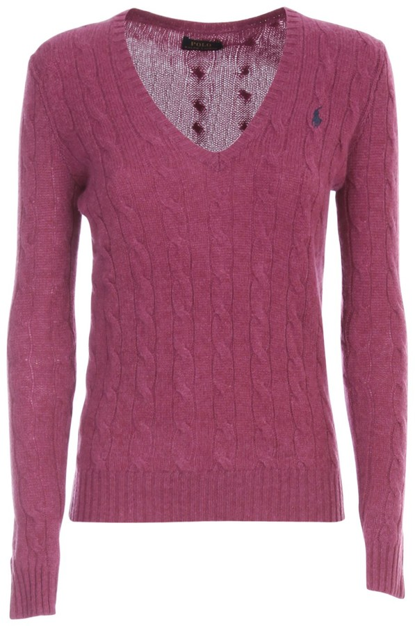 Thumbnail for your product : Polo Ralph Lauren V-Neck Cable Knit Sweater