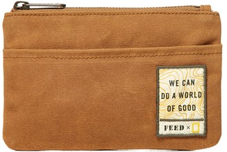 FEED x National Geographic Zip Pouch