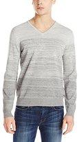 Calvin Klein Men's Premium Space Dye V-Neck Sweater