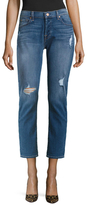 7 For All Mankind Josefina Boyfriend Cotton Distressed Jean