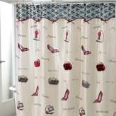 Avanti Flirty 70-Inch x 72-Inch Fabric Shower Curtain