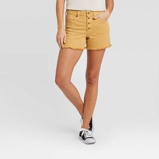 Universal Thread Women's High-Rise Jean Shorts - Universal ThreadTM Golden