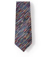 Frank & Oak Modern Art Silk Tie in Multicolour