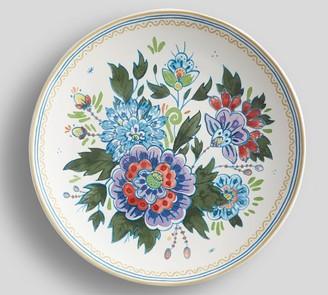 Pottery Barn Flora Botanica Salad Plates, Set of 4