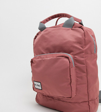 Mi-Pac nylon tote backpack in rose pink