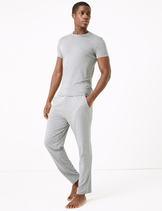 Marks and Spencer Premium Cotton Supersoft Pyjama Bottoms