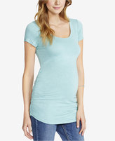 Jessica Simpson Maternity Cut-Out Tee