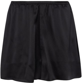 Vince Silk satin shorts