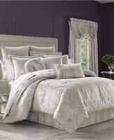 J Queen New York Le Blanc 4-Pc. Queen Comforter Set