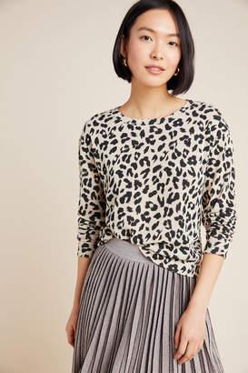 BB Dakota Dita Hacci Leopard Pullover
