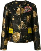 Dolce & Gabbana floral embroidered jacket