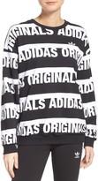 adidas Women's Trefoil Logo Sweatshirt
