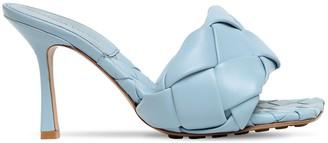 Bottega Veneta 90mm Woven Leather Slide Sandals