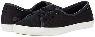 Lacoste Ziane Chunky 220 1 (Black/Off-White) Women's Shoes