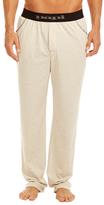 Jaquard Papi Logo Waist Solid Knit Pants