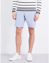 Tommy Hilfiger Brooklyn Striped Classic-fit Cotton-blend Shorts