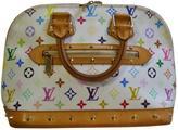 Louis Vuitton Alma cloth bag