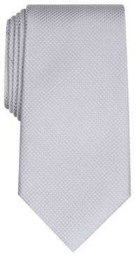 Club Room Men's Parker Classic Grid Tie, Created for Macy's