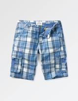 Fat Face Sandbanks Check Cargo Shorts