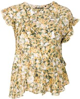 Isabel Marant floral printed blouse
