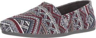 Skechers BOBS from Women's Bobs Plush - Rivers Edge. Aztec Corduroy Slip on w Memory Foam Shoe